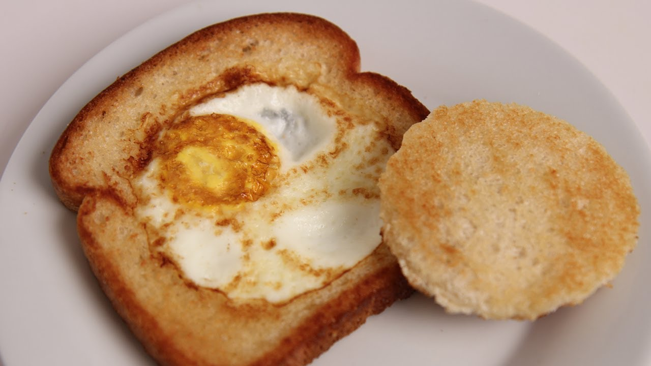 Eggs in a Basket – Moonstruck Style – Italian Cook Laura Vitale