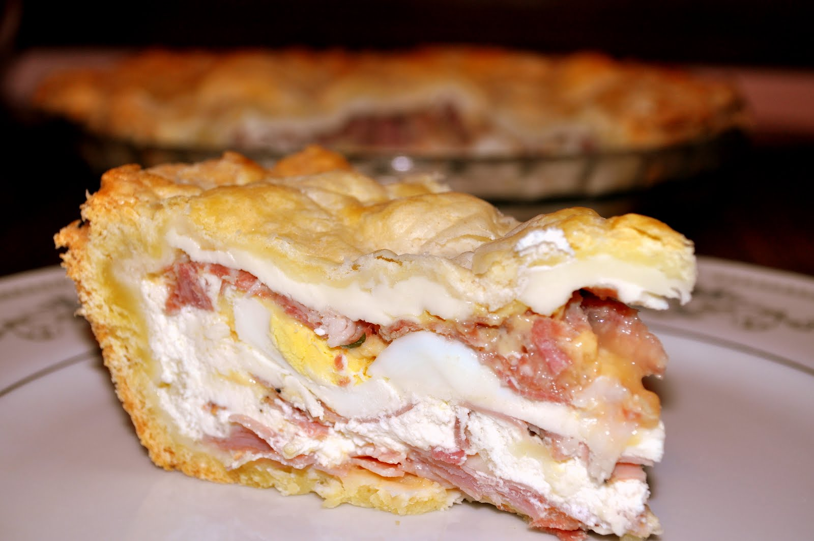 "Pizzachena – Italian Easter Pie – ""Pizzakeen"""