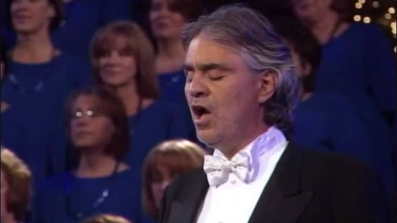 Andrea Bocelli –  The Lord's Prayer Mormon Tabernacle Choir