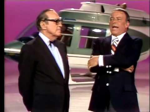Frank Sinatra & Jack Benny together I Get a Kick outa' You