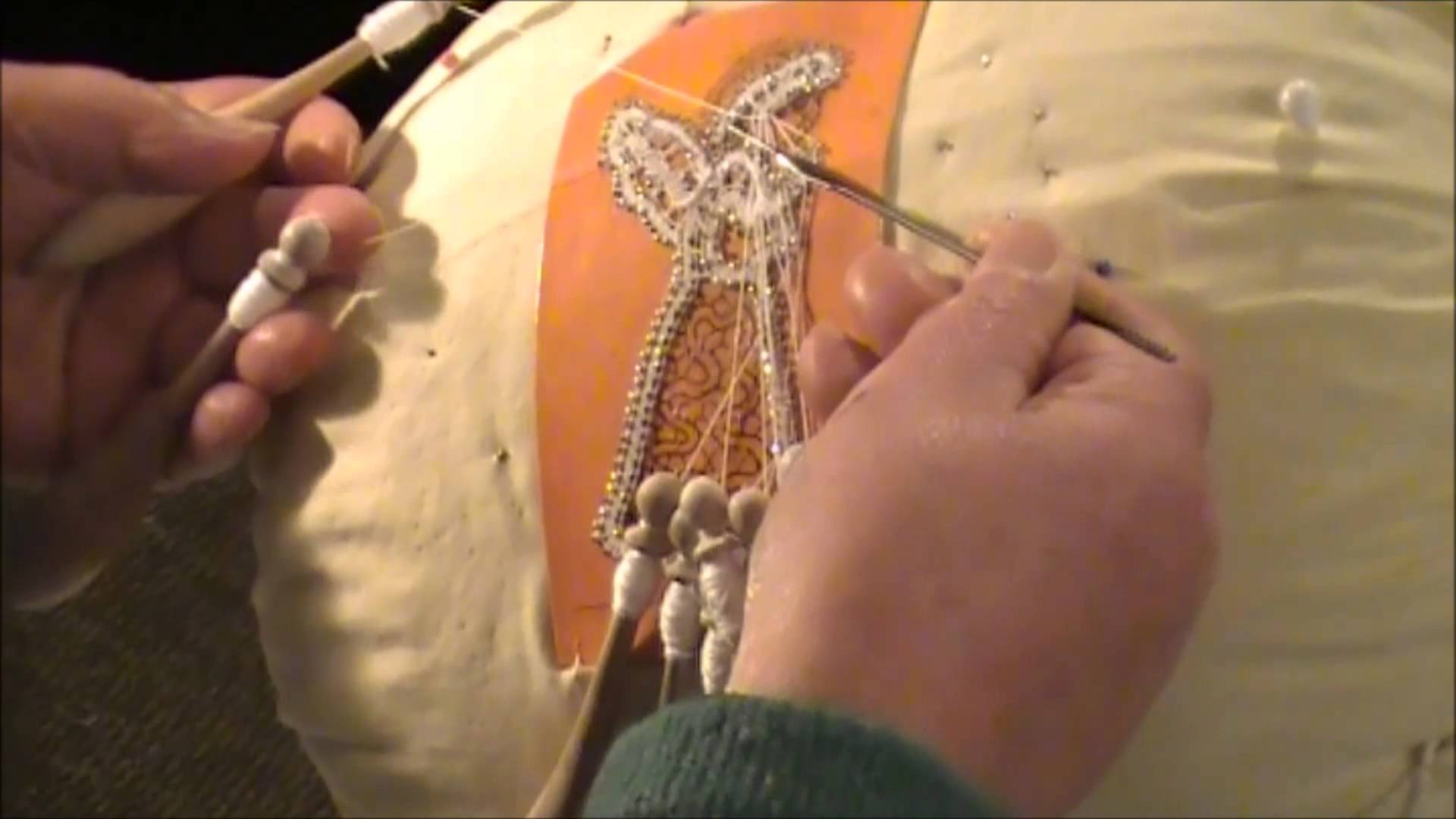 Italian Bobbin Lace  – Magnificent