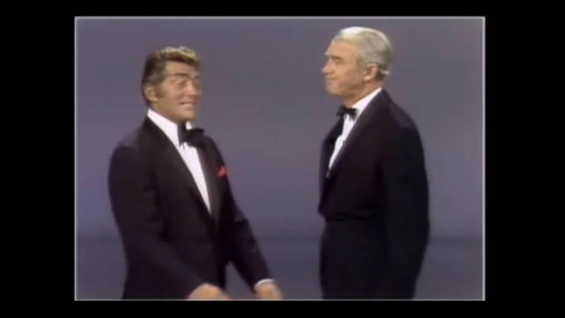 Jimmy Stewart & Dean Martin