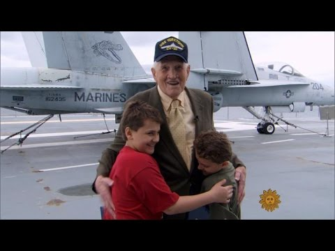 WWII Veteran and Two Inspired Young Boys – Must Watch