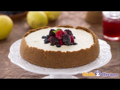 New York Cheesecake Recipe – Italian Cook GialloZafferano / Yellow Saffron