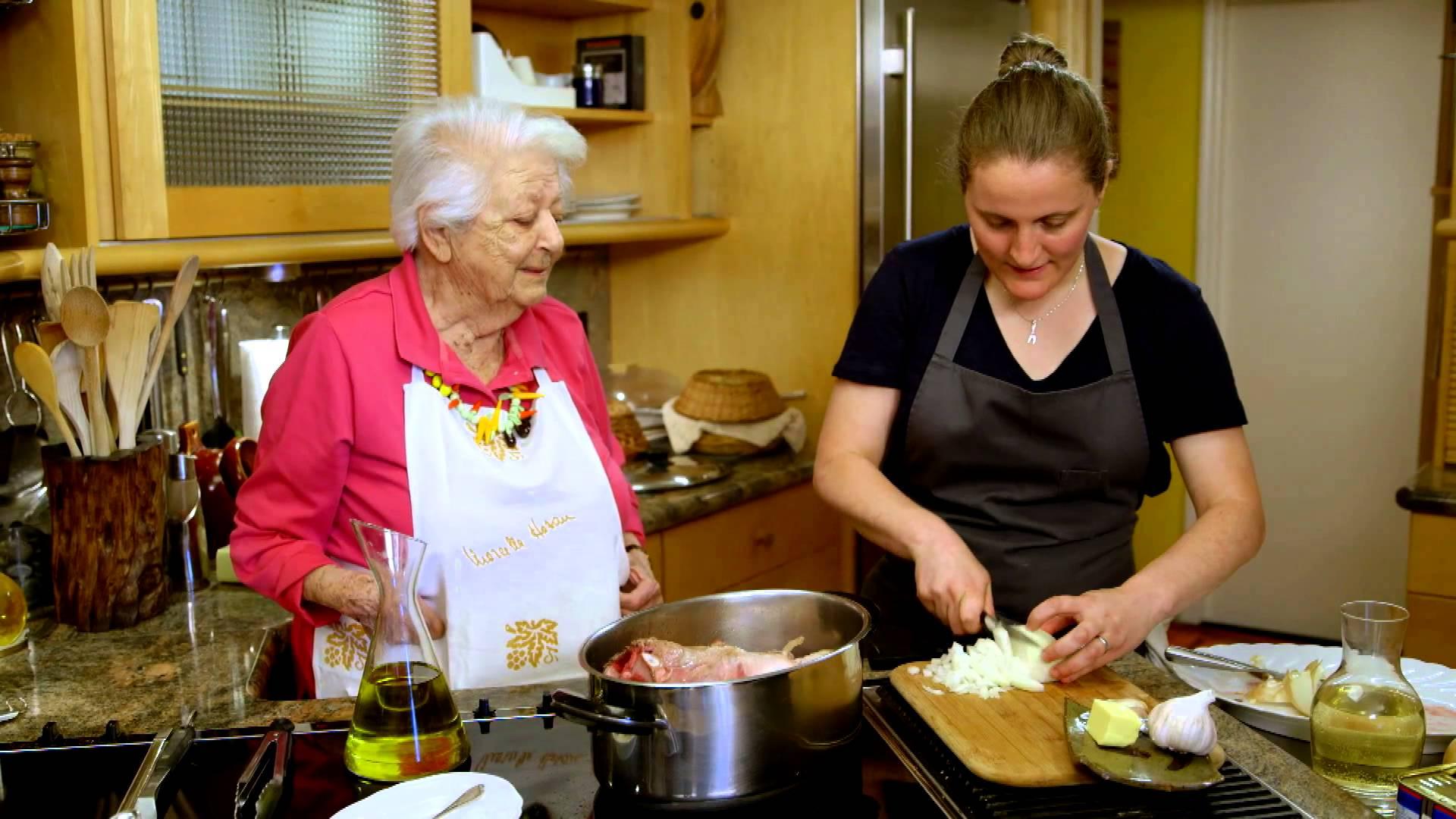 Veal Shank – Marcella Polini Hazan – Mother of Italian Cuisine in America