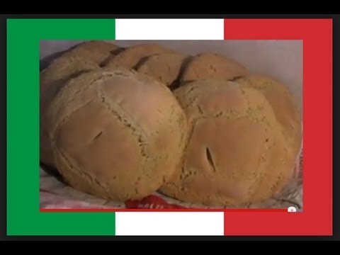 Ancient / Rustic Sicilian Bread – Fascinating !